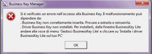 imm_65 errore in accesso BK