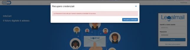 password-bloccata